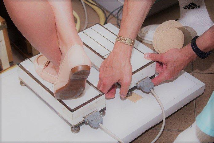 Плантометрия определение нагрузки на стопу