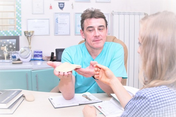 Ортопедические стельки корректоры
